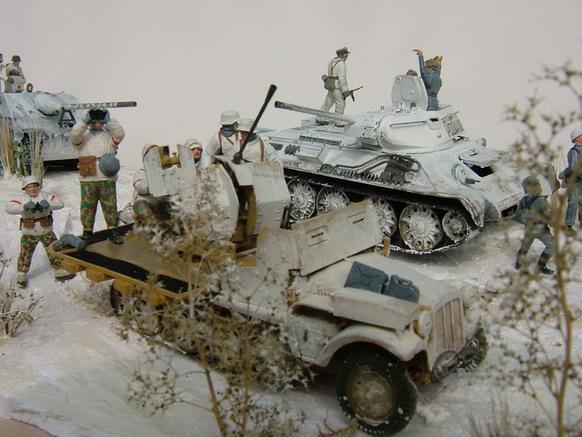 russen panzer im gefecht